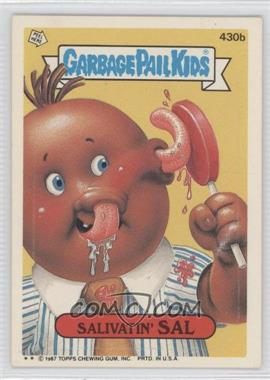 1987 Topps Garbage Pail Kids Series 11 #430b - Salivatin' Sal