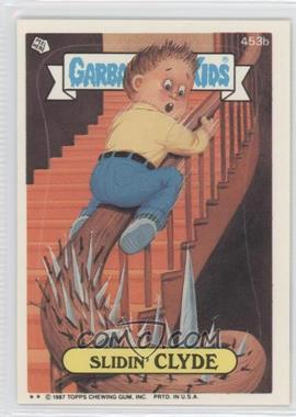 1987 Topps Garbage Pail Kids Series 11 #453b.2 - Slidin' Clyde (Two Star)