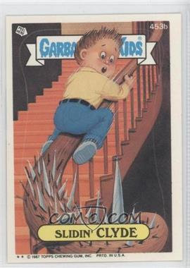 1987 Topps Garbage Pail Kids Series 11 #453b.2 - Slidin' Clyde