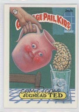 1987 Topps Garbage Pail Kids Series 7 #262b.2 - Jughead Ted (two star back)