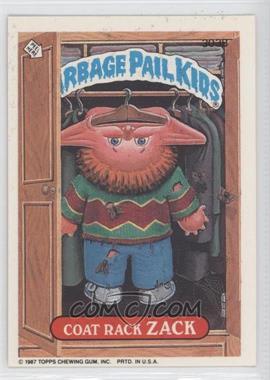 1987 Topps Garbage Pail Kids Series 8 - [Base] #303b - Coat Rack Zack