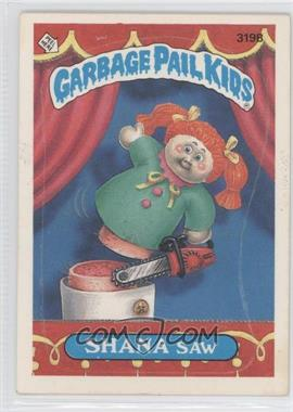 1987 Topps Garbage Pail Kids Series 8 - [Base] #319b.2 - Shana Saw (Two Star Back)