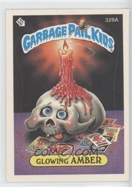 1987 Topps Garbage Pail Kids Series 8 - [Base] #328a.2 - Glowing Amber (Two Star Back)