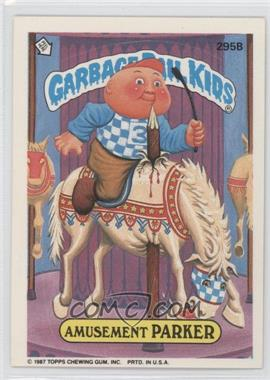 1987 Topps Garbage Pail Kids Series 8 #295b - Amusement Parker