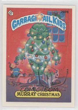 1987 Topps Garbage Pail Kids Series 8 #297b.2 - Murray Christmas (Two Star Back)