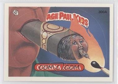 1987 Topps Garbage Pail Kids Series 8 #300a.1 - Corrina Corona (One Star Back)