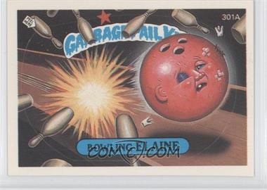 1987 Topps Garbage Pail Kids Series 8 #301a.2 - Bowling Elaine (Two Star Back)