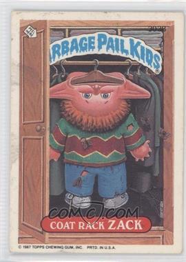 1987 Topps Garbage Pail Kids Series 8 #303B - Coat Rack Zack