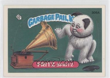 1987 Topps Garbage Pail Kids Series 8 #308A.2 - Fritz Spritz