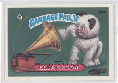 1987 Topps Garbage Pail Kids Series 8 #308b.2 - Ella P. Record (Two Star Back)