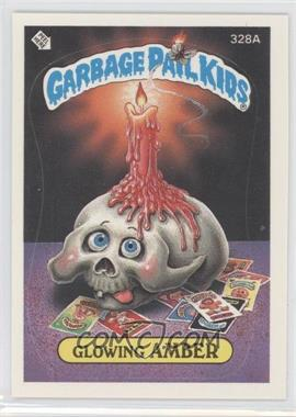 1987 Topps Garbage Pail Kids Series 8 #328a.2 - Glowing Amber (Two Star Back)