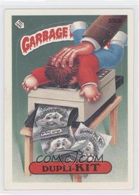 1987 Topps Garbage Pail Kids Series 8 #330B.1 - Dupli-kit