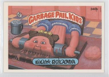 1987 Topps Garbage Pail Kids Series 9 #340b.2 - Rollin' Rolanda (two star back)
