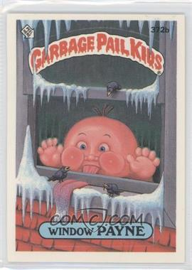 1987 Topps Garbage Pail Kids Series 9 #372b.2 - Window Payne (two star back)