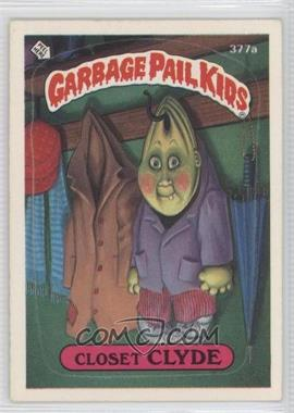 1987 Topps Garbage Pail Kids Series 9 #377a.2 - Closet Clyde (Two Star Back)