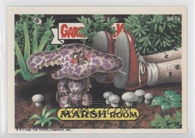 1988 Topps Garbage Pail Kids Series 14 #561a - Marsh Room