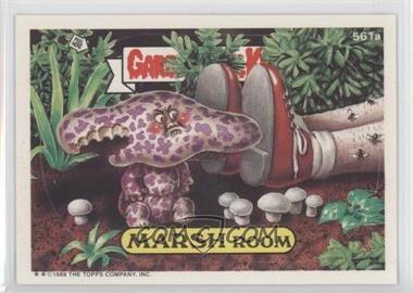 1988 Topps Garbage Pail Kids Series 14 #561a - Marsh Room