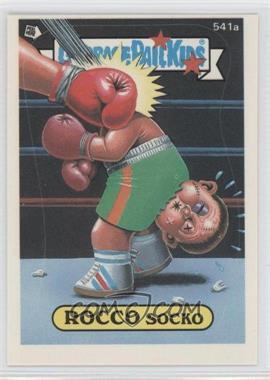 1988 Topps Garbage Pail Kids Series 15 #541 - [Missing]