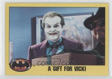 1989 Topps Batman - [Base] #219 - A Gift for Vicki