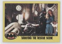 Shooting the Rescue Scene