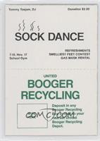 Sock Dance/Booger Recycling