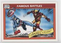 Captain America vs. Wolverine
