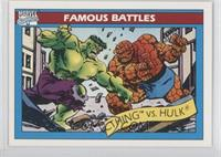 The Thing vs. Hulk