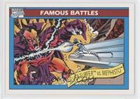 Silver Surfer vs. Mephisto