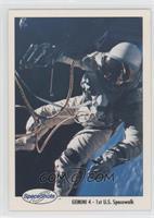 Gemini 4 - 1st U.S. Spacewalk