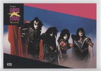 Kiss (Logo on Top Left)
