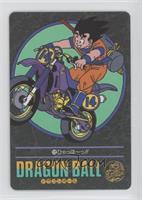 Goku on Motorcycle