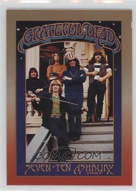 1991 Brockum RockCards - Legacy Series #8 - 710 Ashbury, 1967 (Grateful Dead)