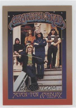 1991 Brockum RockCards Legacy Series #8 - 710 Ashbury, 1967 (Grateful Dead)