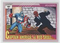 Captain America vs Red Skull