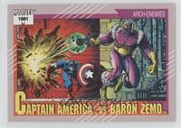 Captain America vs Baron Zemo