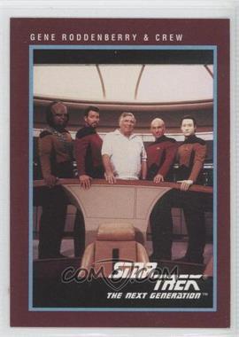 1991 Impel Star Trek 25th Anniversary - [Base] #308 - Gene Roddenberry & Crew