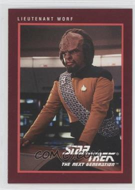 1991 Impel Star Trek 25th Anniversary #110 - Lieutenant Worf