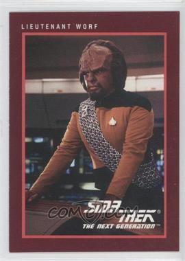 1991 Impel Star Trek 25th Anniversary #110 - Lieutenant Worf