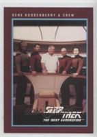 Gene Roddenberry & Crew