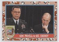 Gen. Powell & Sec. Cheney
