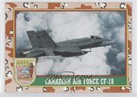 Canadian Air Force Cf-18