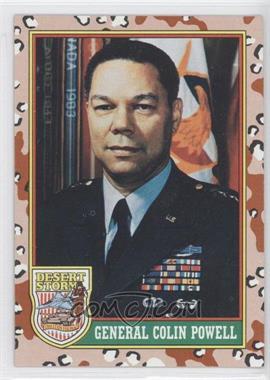 1991 Topps Desert Storm #2 - General Colin Powell