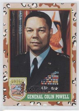 "1991 Topps Desert Storm #2.1 - General Colin Powell (Yellow ""Desert Storm"")"