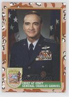 Chief Of Staff General Charles Gabriel