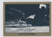 Flag Flies Proudly