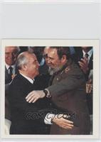 Mikhail Gorbachev, Fidel Castro