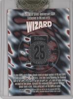 Wizard 25th Silver Anniversary GOP (Silver Foil)