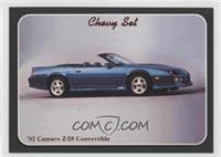 '92 Camaro Z-28 Convertible