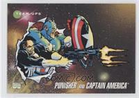 Punisher, Captain America
