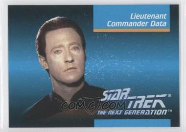 1992 Impel Star Trek The Next Generation - [Base] #00B - Lieutenant Commander Data